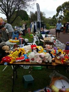 2014 Garage sale trail at Kadidjiny Park Hall