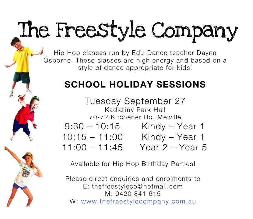 Hop Hop Classes - School Holiday Sessions
